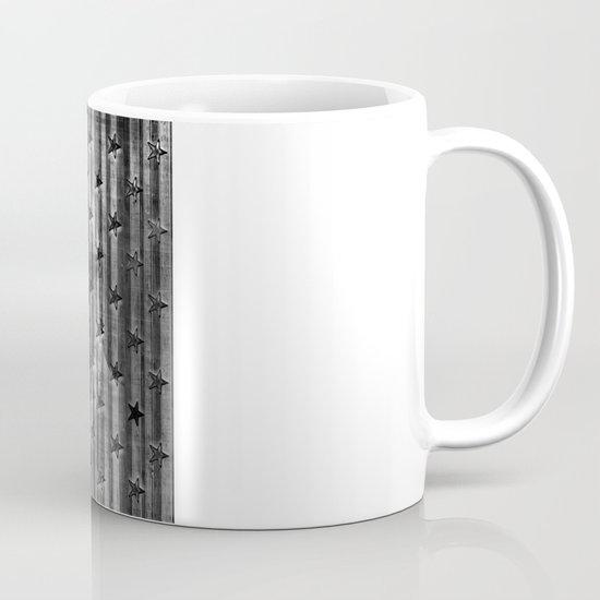 Black Stars & Black Stripes Mug