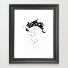Drawing Framed Art Print