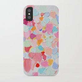 Amoebic Confetti iPhone Case