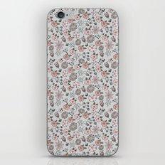 Hand Drawn Florals iPhone & iPod Skin