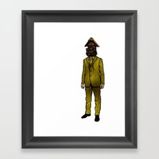 Father Time Framed Art Print