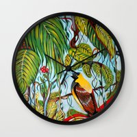 lonely Wall Clocks featuring Lonely by Felicia Atanasiu