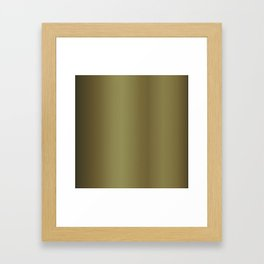 Gold Bright Metallic Carbon Fiber Pattern Framed Art Print