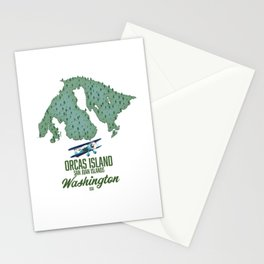 Orcas Island, Washington, USA Stationery Cards