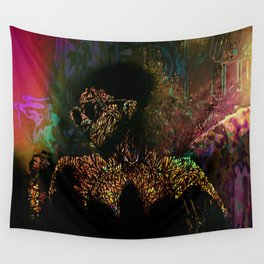 Cyborg Wall Tapestry