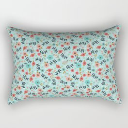 Pretty Not-So-Sweary: Nope- Day Rectangular Pillow