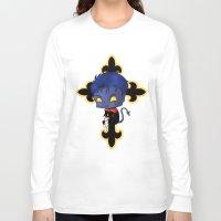 nightcrawler Long Sleeve T-shirts featuring Chibi Nightcrawler by artwaste