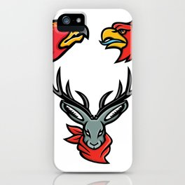 Mythical Creatures Mascot Collection iPhone Case