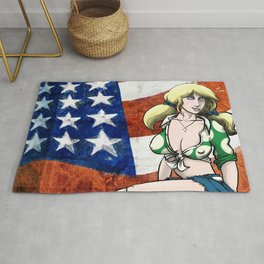 Suzy Spreadwell - Flag Rug