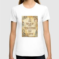 bible verse T-shirts featuring Bible Verse Steampunk Way Truth Life by Whimsy and Nonsense