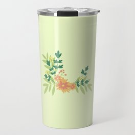Citrus Floral Travel Mug