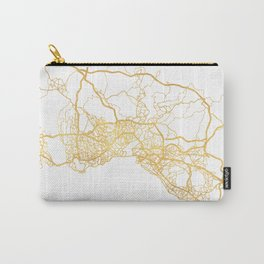 ISTANBUL TURKEY CITY STREET MAP ART Carry-All Pouch