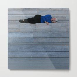 Naps at the ICA Metal Print