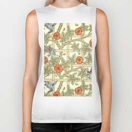 "William Morris ""Trellis"" Biker Tank"