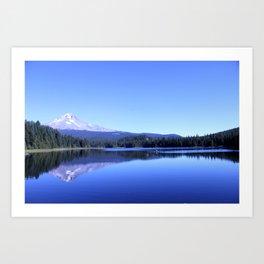 Mt Hood from Trillium Lake #2 Art Print