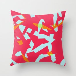 Finding The Singing Bird In Every Situation Throw Pillow