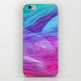 moutain#glitch iPhone Skin