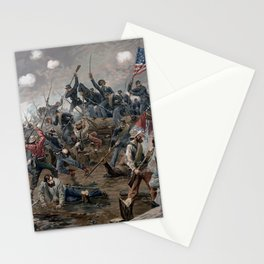 The Battle of Spotsylvania Court House - Civil War Stationery Cards