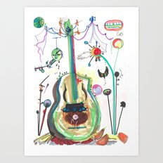 Encore Art Print