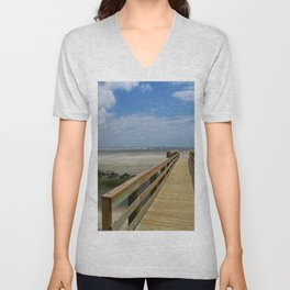 Welcome To The Beach Unisex V-Neck