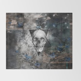 SKULL  Throw Blanket