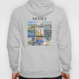 Monet - Collage Hoody