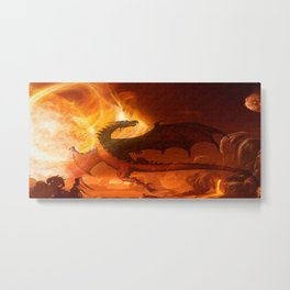 Dragon's world Metal Print