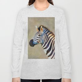THE ZEBRA Long Sleeve T-shirt