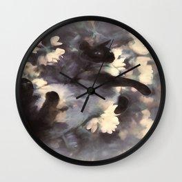 Splendor In The Clover Wall Clock