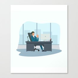Big Boss - National Boss Day 2 Canvas Print