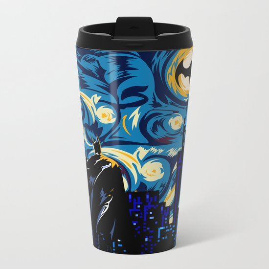 Starry Knight iPhone 4 4s 5 5c 6, pillow case, mugs and tshirt Metal Travel Mug