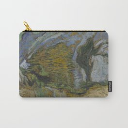 Ravine with a Small Stream Carry-All Pouch