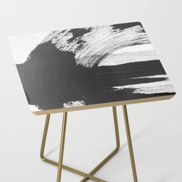 Black and White Gallery Wall Art Side Table