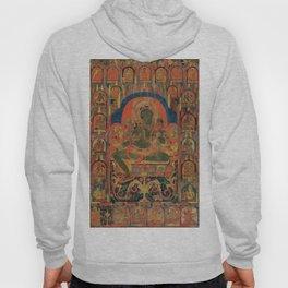 Hindu Krishna Tapestry Hoody