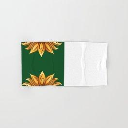 The yellow loto Hand & Bath Towel