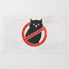 No Owls Rug