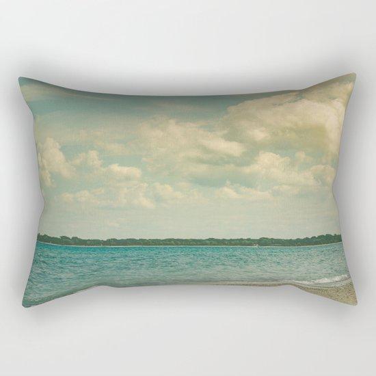 Where Are You Now Rectangular Pillow