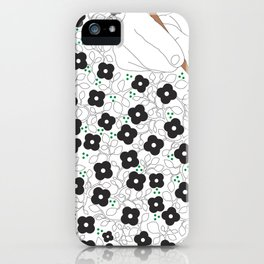 Life is poetry iPhone Case