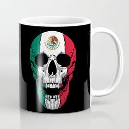 Mexico Flag - Mexican Skull - Mexico Roots Coffee Mug