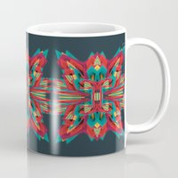 cyberpunk Mugs featuring Summer Calaabachti Heart by Obvious Warrior