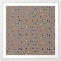 sprinkles Art Prints featuring Sprinkles by D.J.D