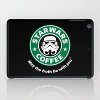 coffe iPad Cases featuring SW Coffe by ismaeledits