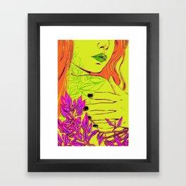 P O I S O N I V Y Framed Art Print