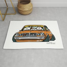 Crazy Car Art 0146 Rug