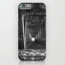Pier Support iPhone Case