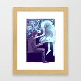 Ghost Story Framed Art Print