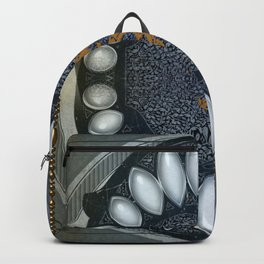 Golden chinese dragon Backpack