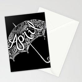 Monochrome April Stationery Cards