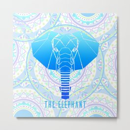 The Elephant Metal Print