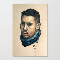 The Assassin Canvas Print
